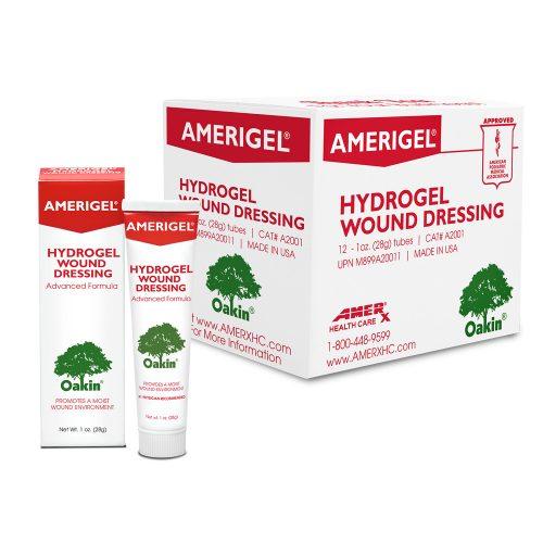 AMERIGEL Hydrogel Wound Dressing - 1 oz Case