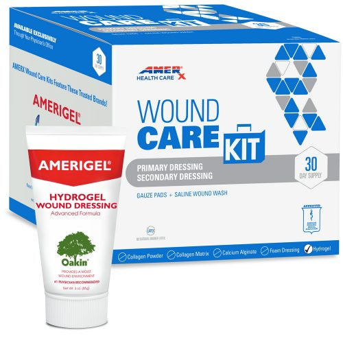 AMERX Hydrogel 30-Day Wound Care Kit