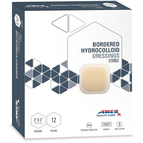 AMERX Hydrocolloid Dressing - 2 x 2