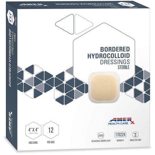 AMERX Hydrocolloid Dressing - 4 x 4