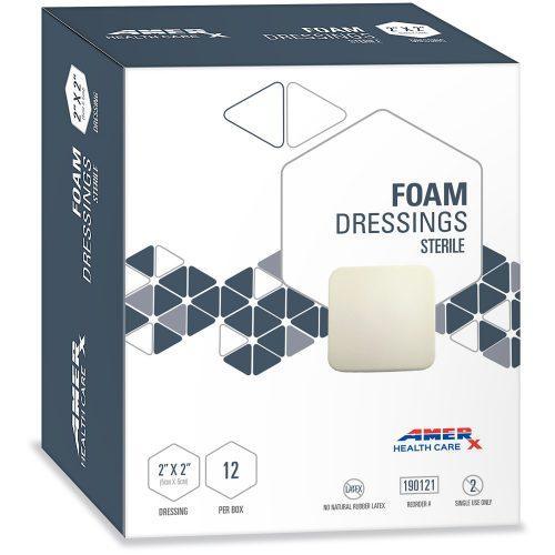 AMERX Foam Dressing - 2x2