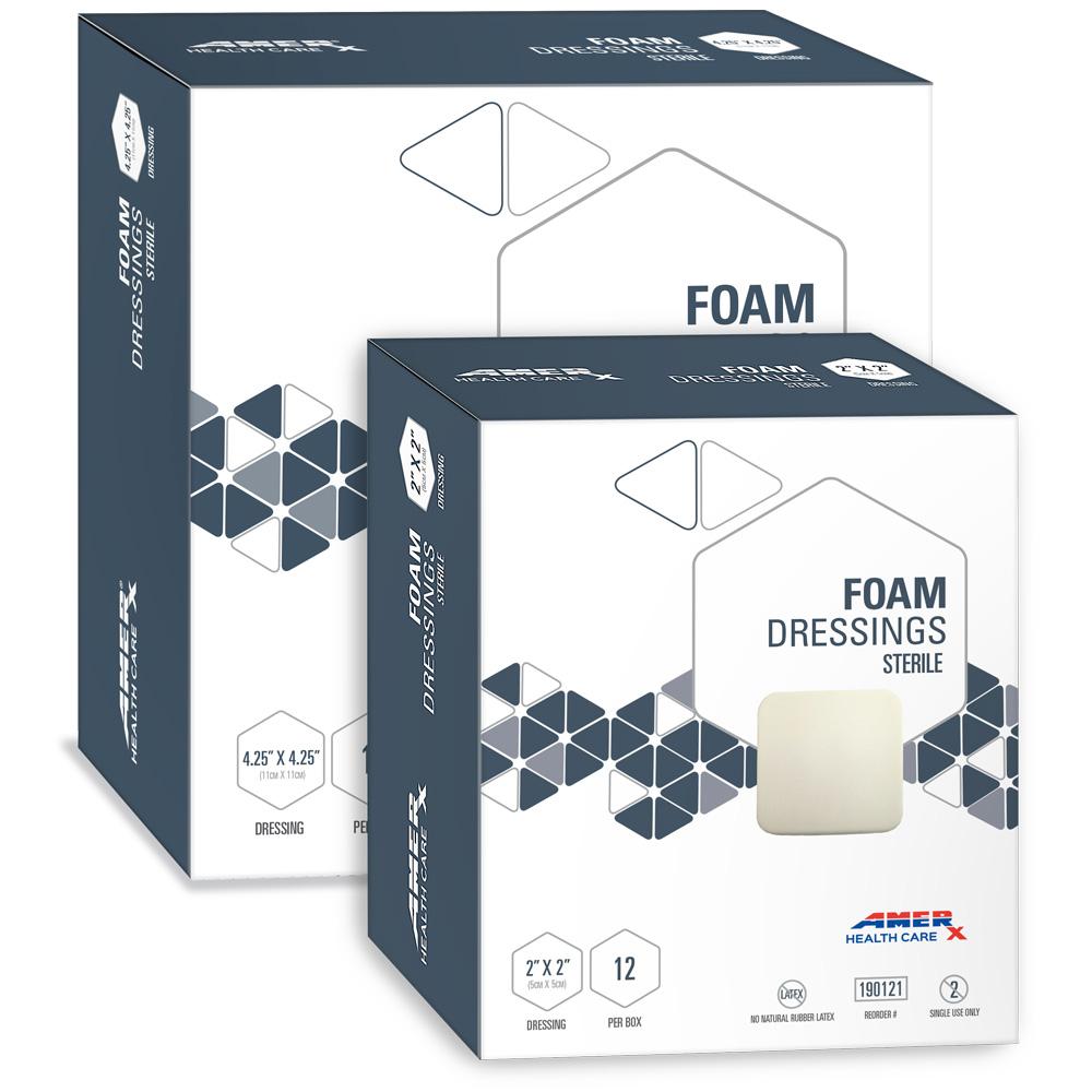 AMERX Foam Dressing