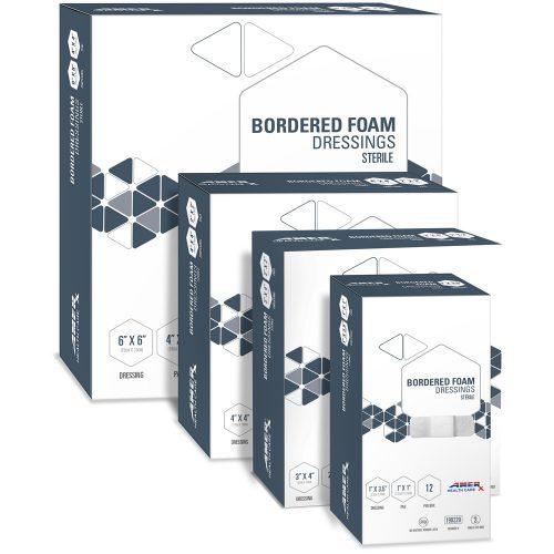 AMERX Bordered Foam Dressing