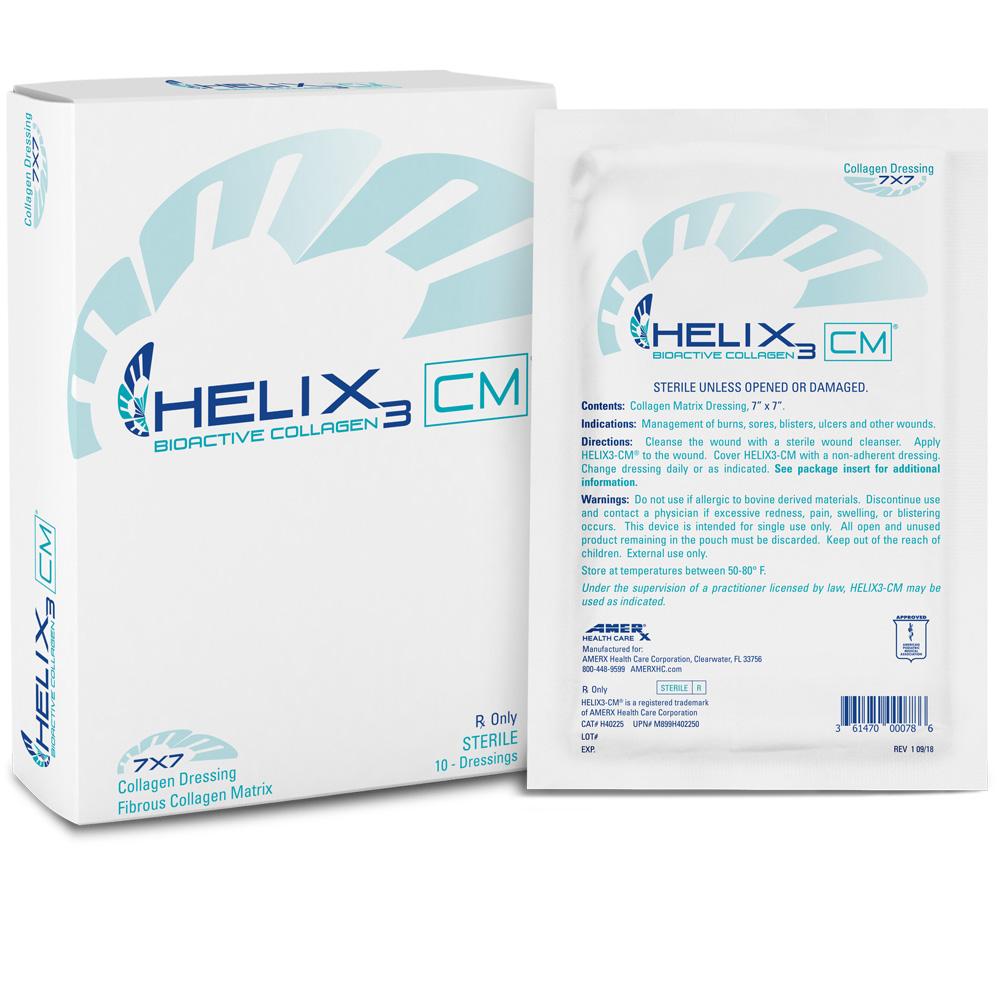 HELIX3-CM Collagen Matrix - 7x7