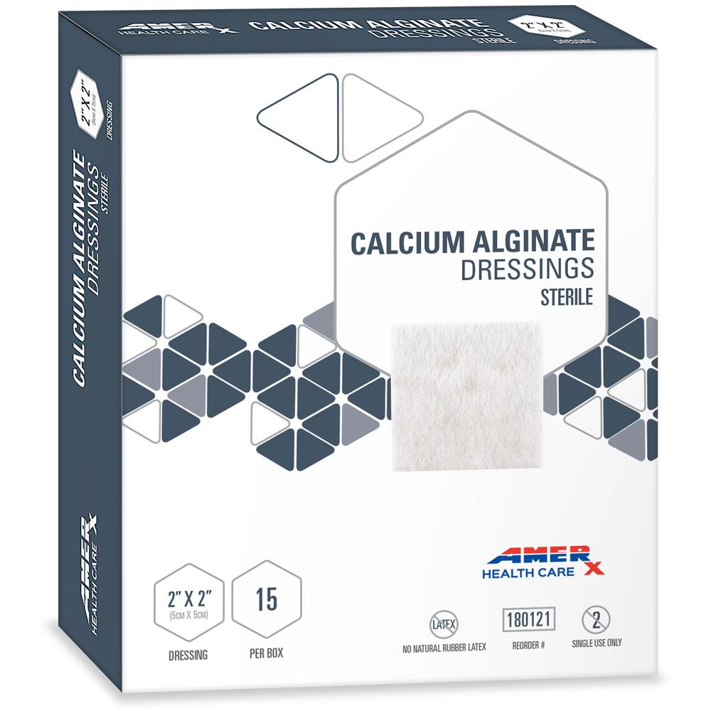 AMERX Calcium Alginate - 2x2