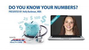 WEBINAR: Do You Know Your Numbers?