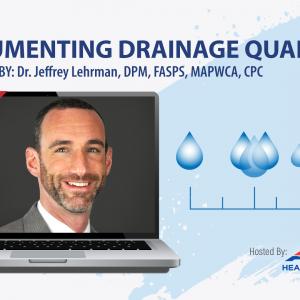 Webinar: Documenting Drainage Quantity