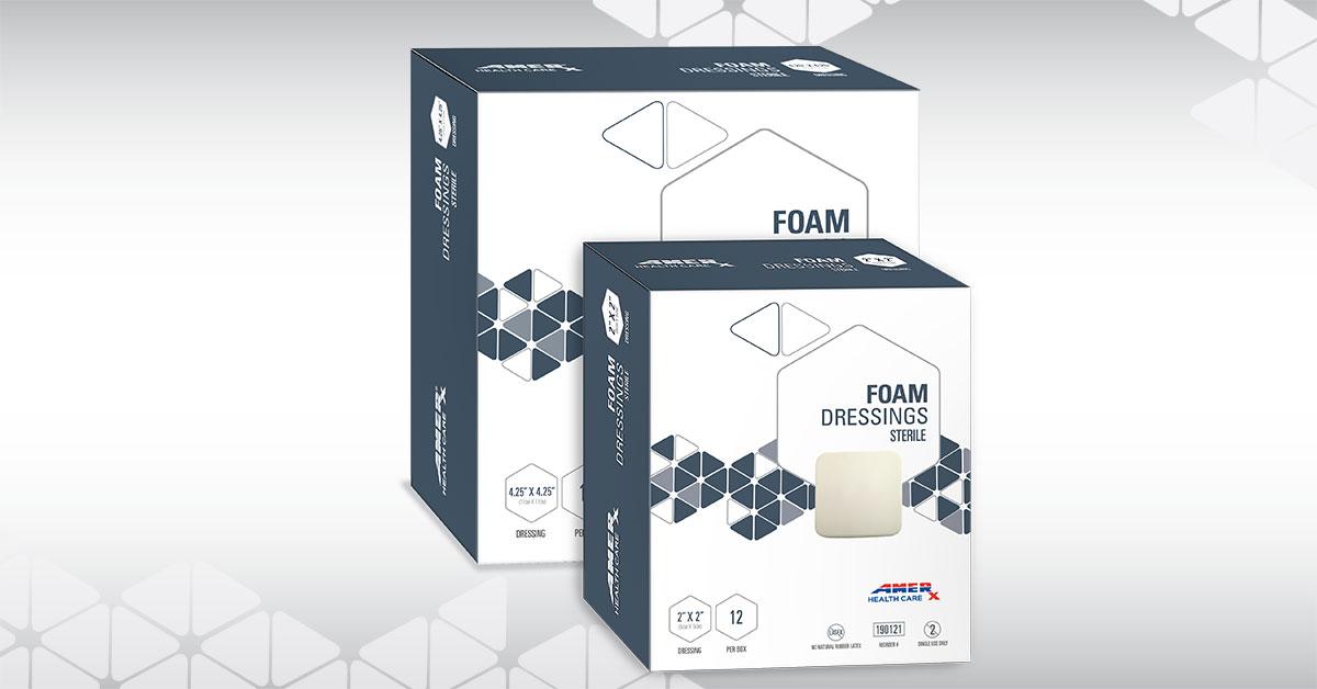 AMERX Foam Group Shot