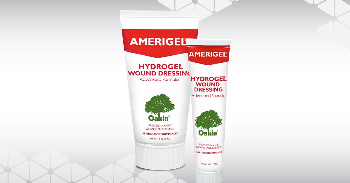 AMERIGEL Hydrogel Wound Dressing Group Shot
