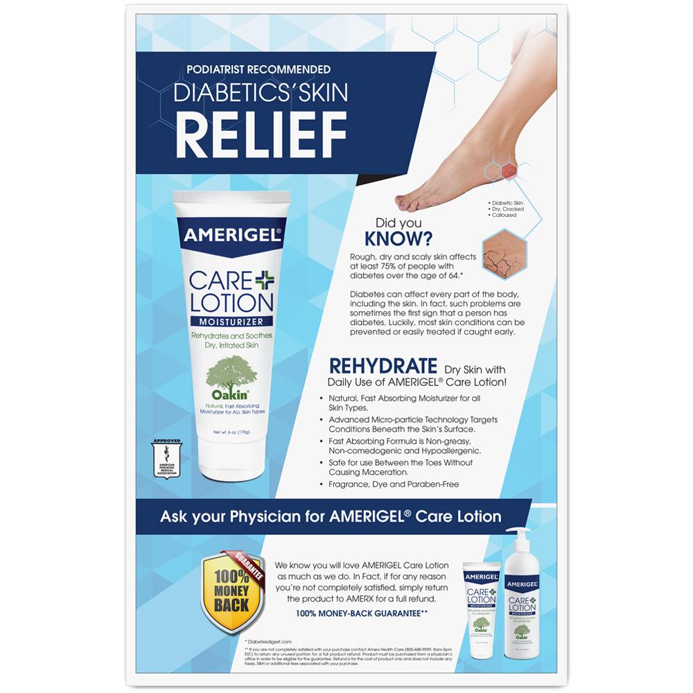 AMERIGEL Care Lotion Poster
