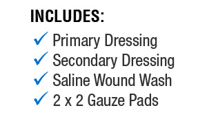 Wound Care Kit Components