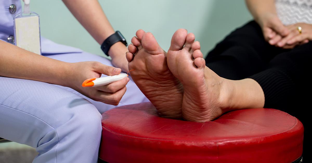 neuropathy foot test
