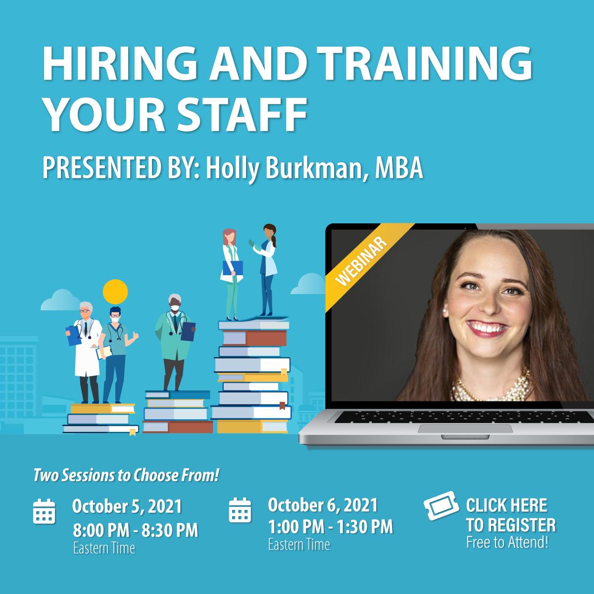 Webinar: Hiring and Training Your Staff