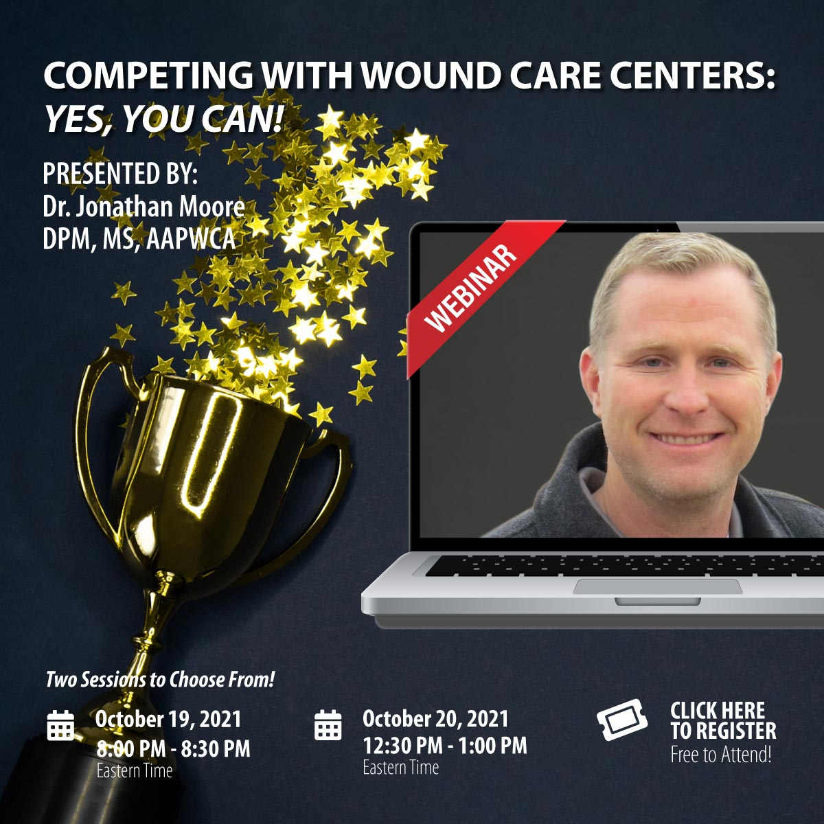Webinar: Competing With Wound Care Centers: Yes, You Can!