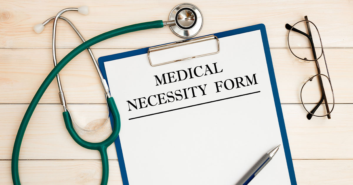 Medical Necessity Form